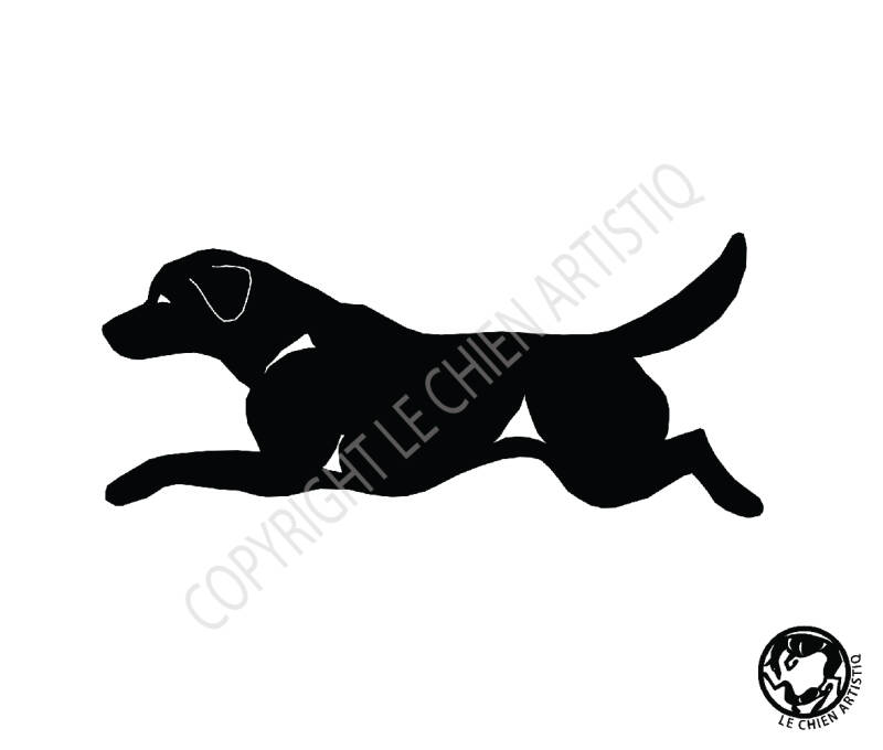 Labrador Retriever ! vinyl sticker
