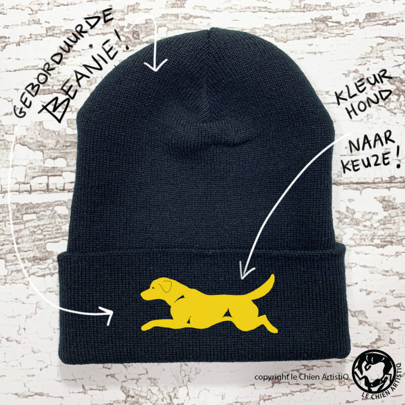 Labrador Retriever ! beanie / winter muts