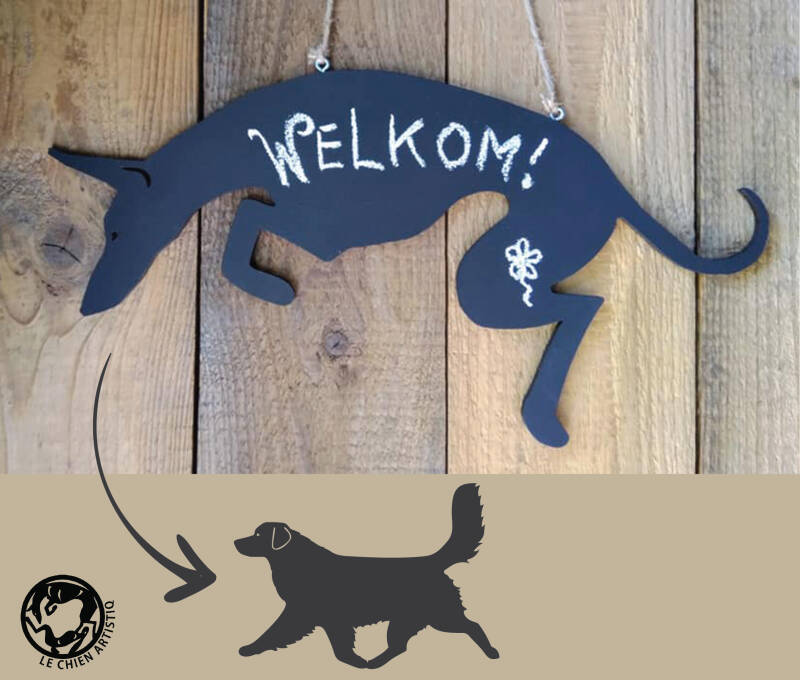 Nova Scotia Duck Tolling Retriever ! Design Krijtbord!