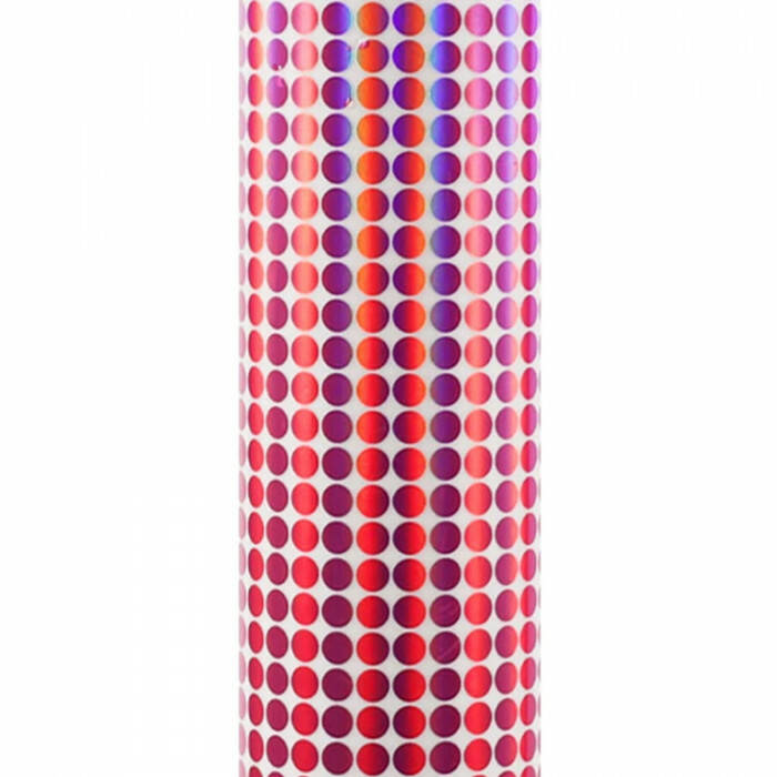 Craft Holo Mosaic - Red Dots