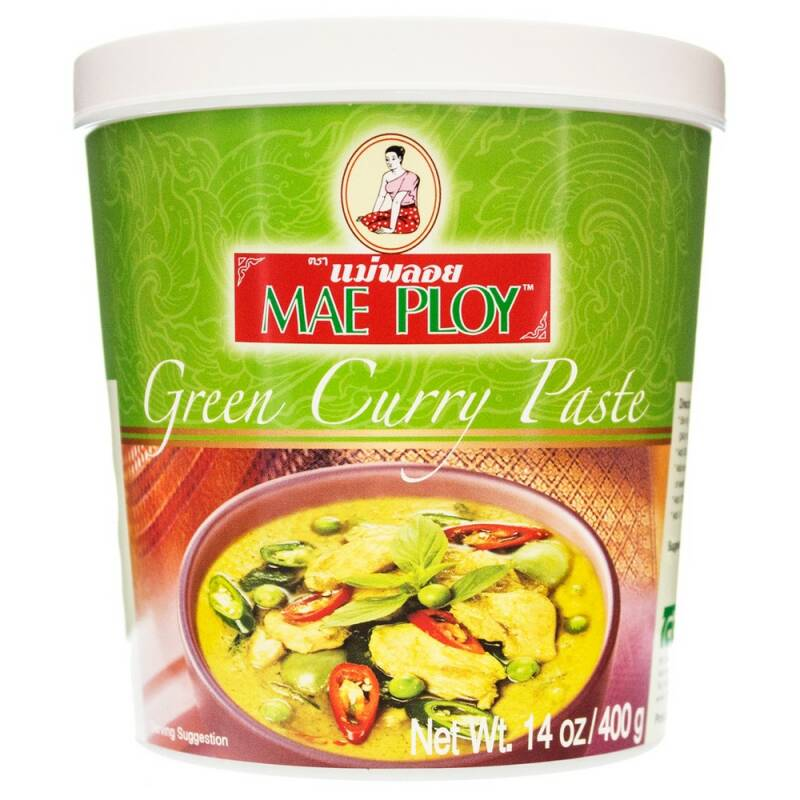 Mae ploy green curry 400g