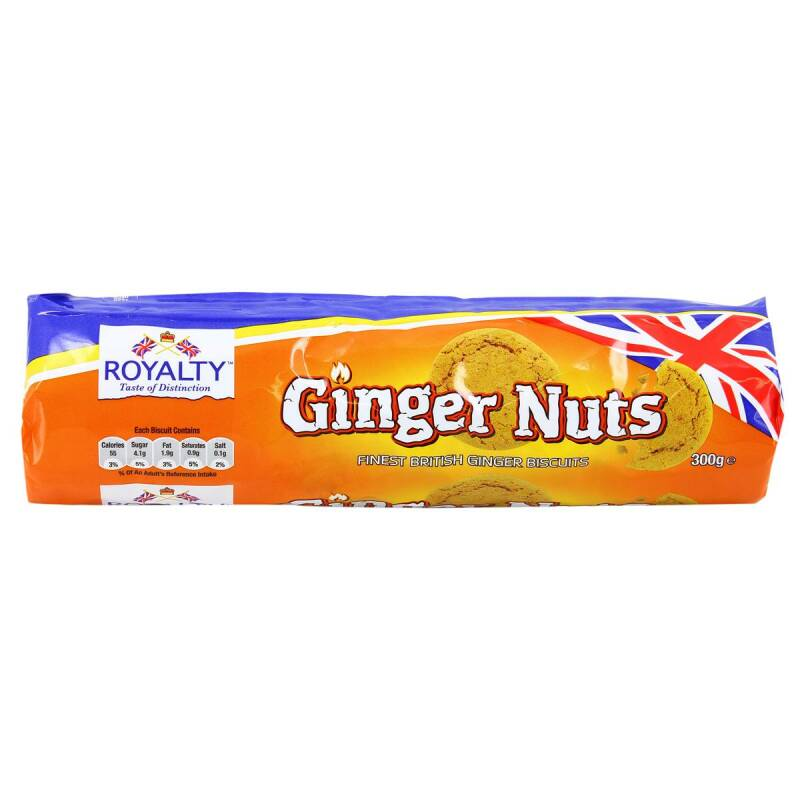 Royalty Ginger Nuts 300g