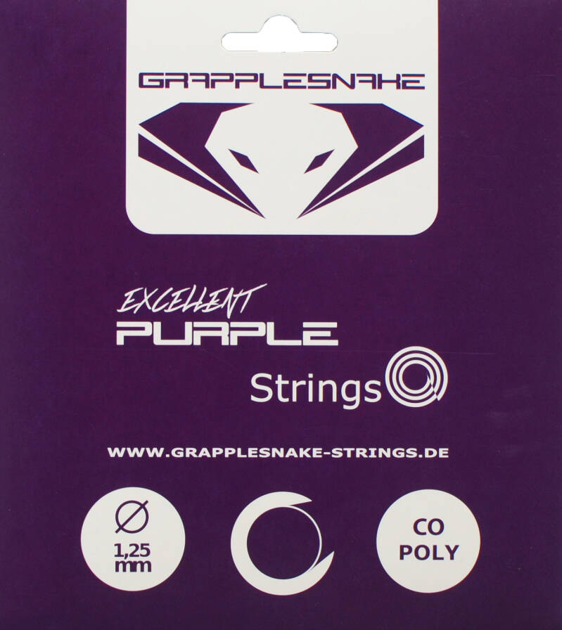 Grapplesnake Excellent Purple Set Tennissnaar