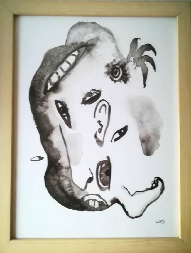 'Face in the crowd' nr.4