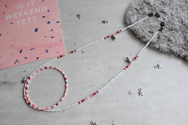 Sunny cord roze / rood