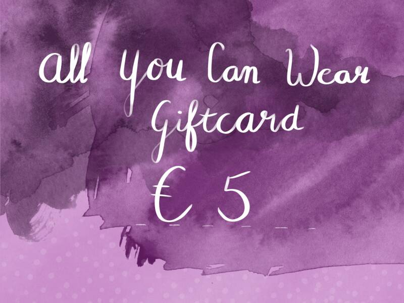Online giftcard €5