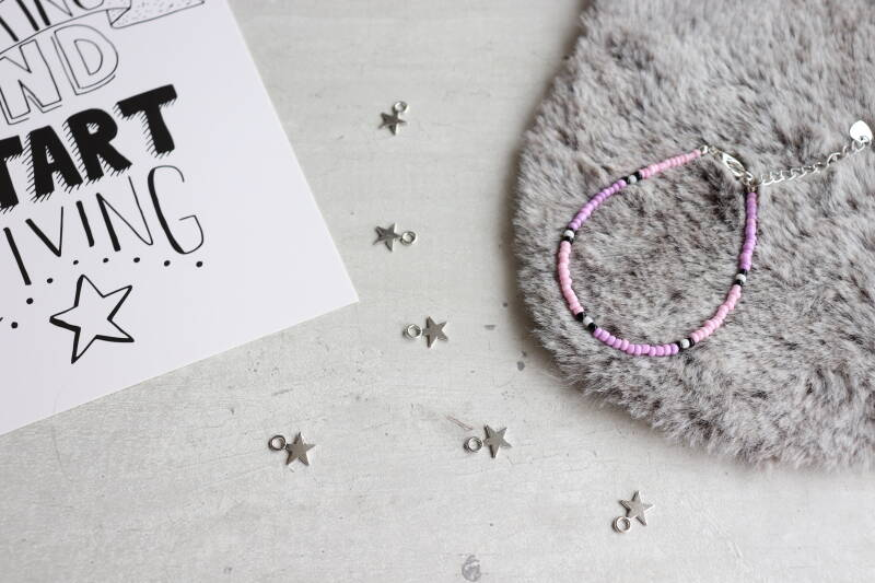 Basis collectie armband Roze / Paars