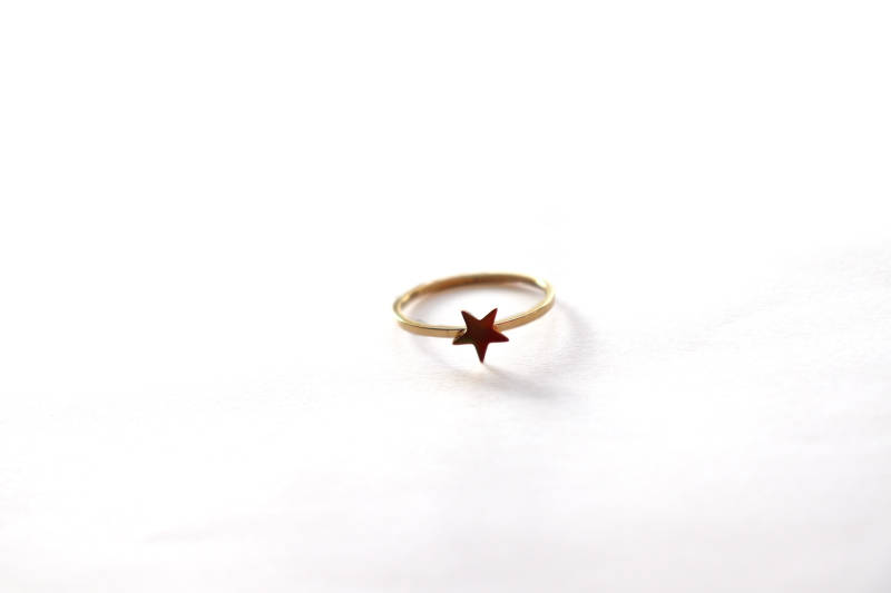 Ring ster Goud Plated