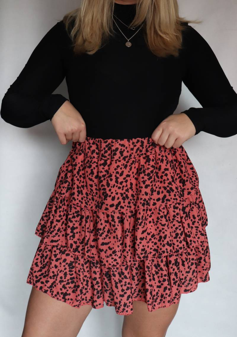 Rok dotted - Rood