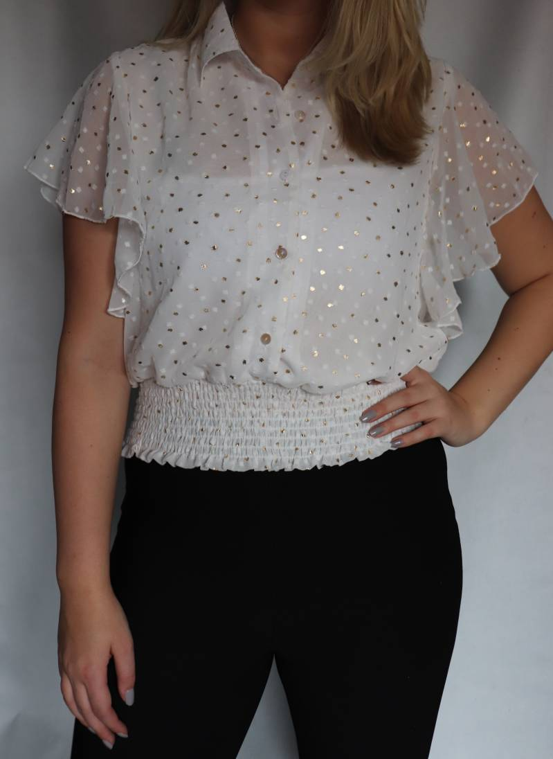 Avery Top - Wit M/L