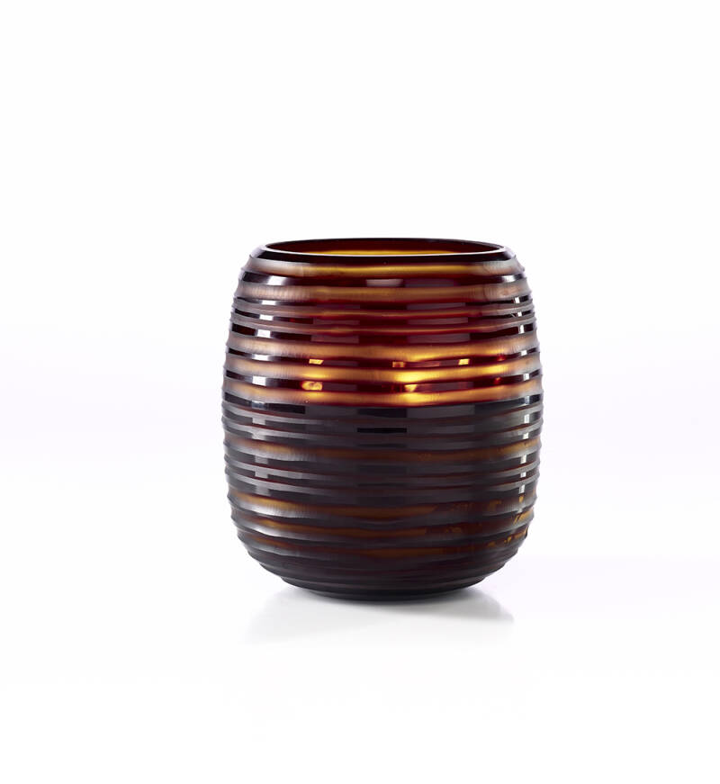 Onno Scented Candle Sphere Amber, Sage, Extra Large Ø23xH26