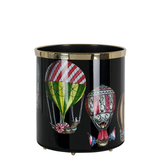 Paper basket Palloni colour-black