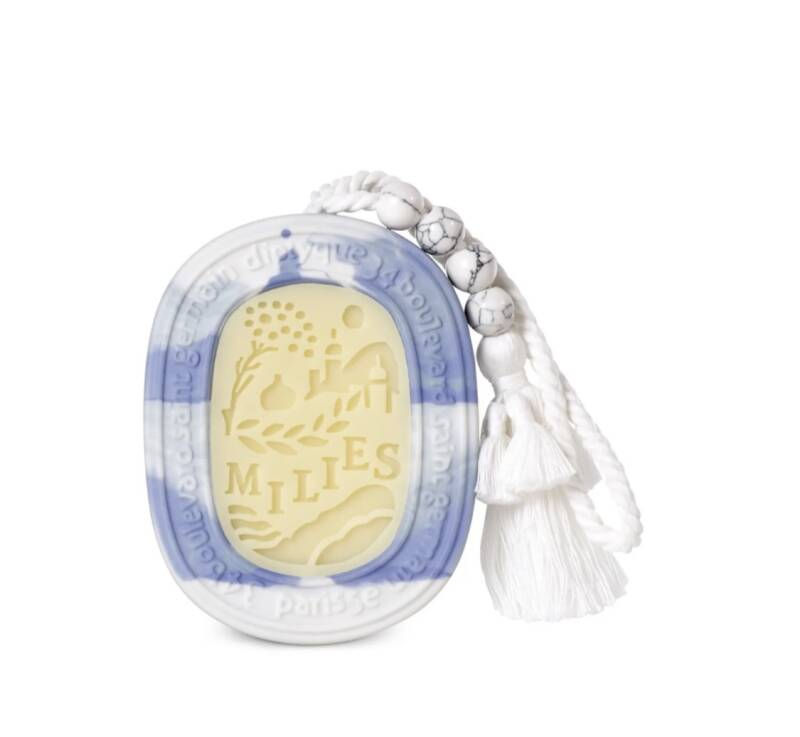 Diptyque NEW - Milies scented oval - Le grand tour