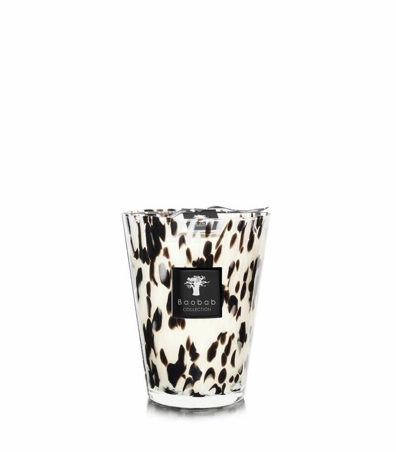 Baobab Scented Candle Black pearls MAX24
