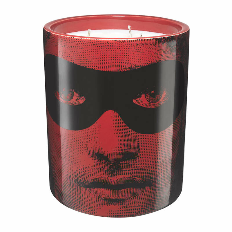 Fornasetti Scented Candle Don Giovanni Red-Black - 900g