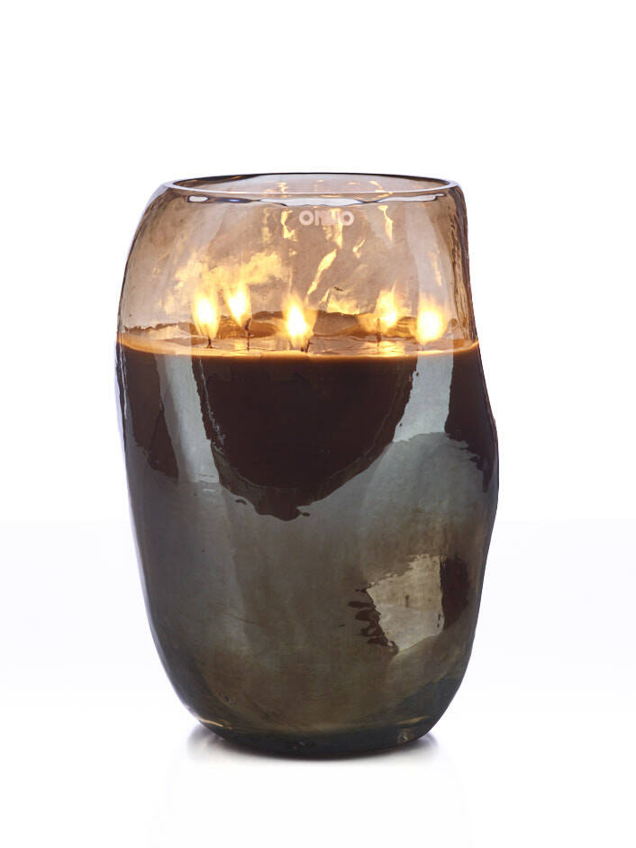 Onno Scented Candle Cape Champagne, Sage extra large Ø20xH30