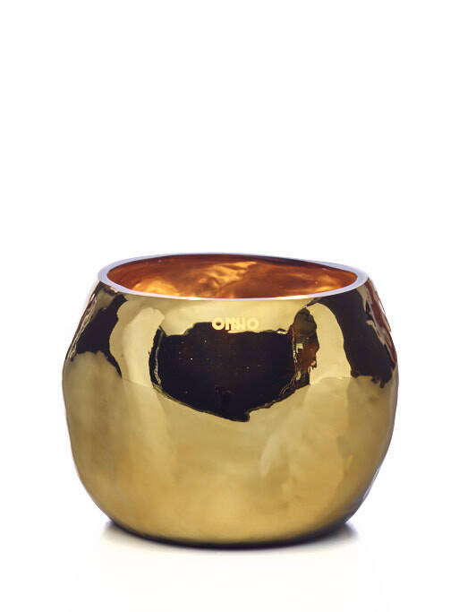 Onno Scented Candle Cape Gold, Sage, medium Ø19x14