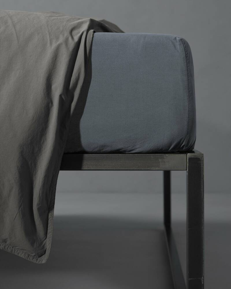 Society Fitted sheet Nite Ardesia 180x200x30cm