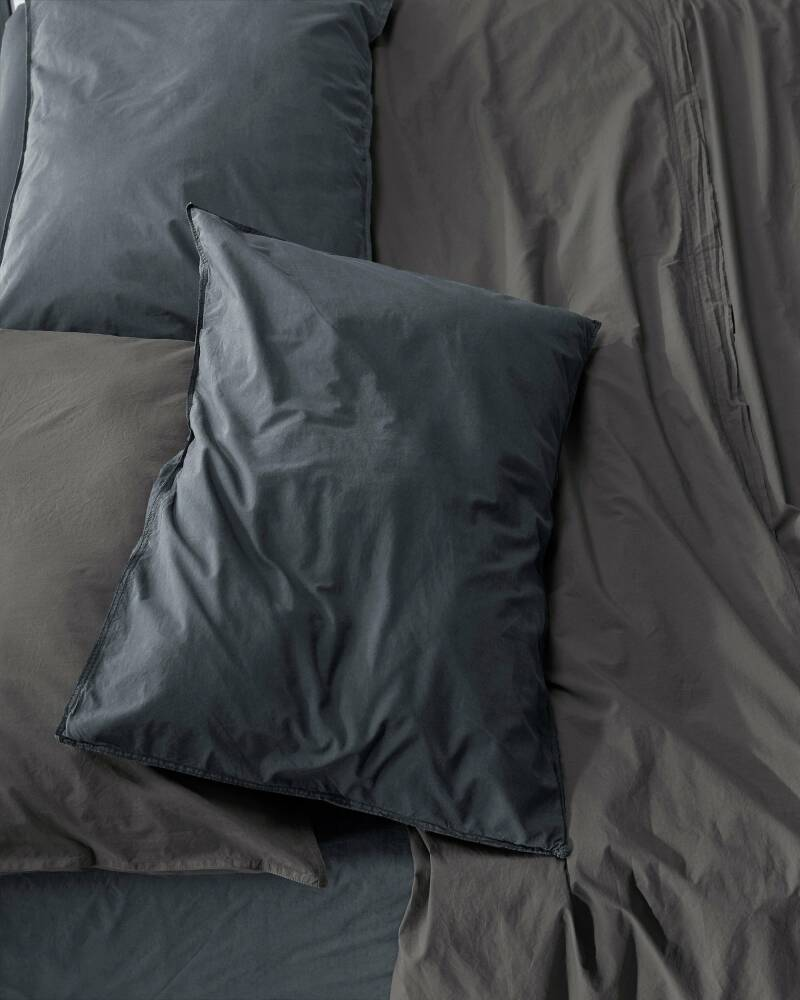 Society Pillow Cases Nite, color Ardesia (set of two)