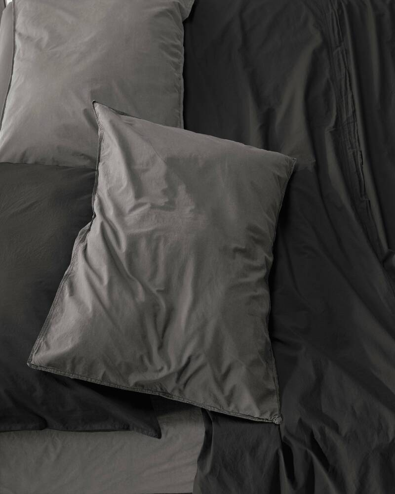 Society Pillow Cases Nite, color Fumo (set of two)