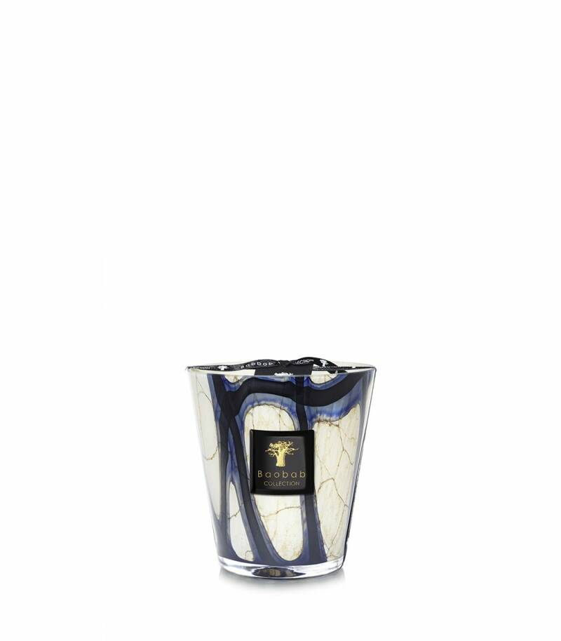Baobab Scented Candle Stones Lazuli MAX16