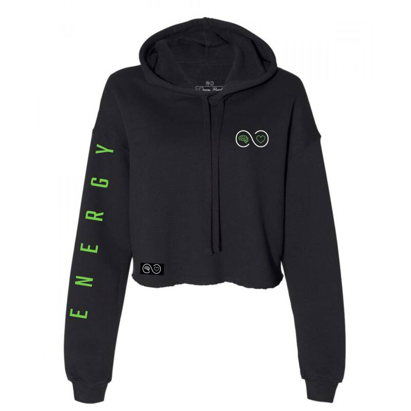 Just Be - Energy - Special Cropped Hoodie