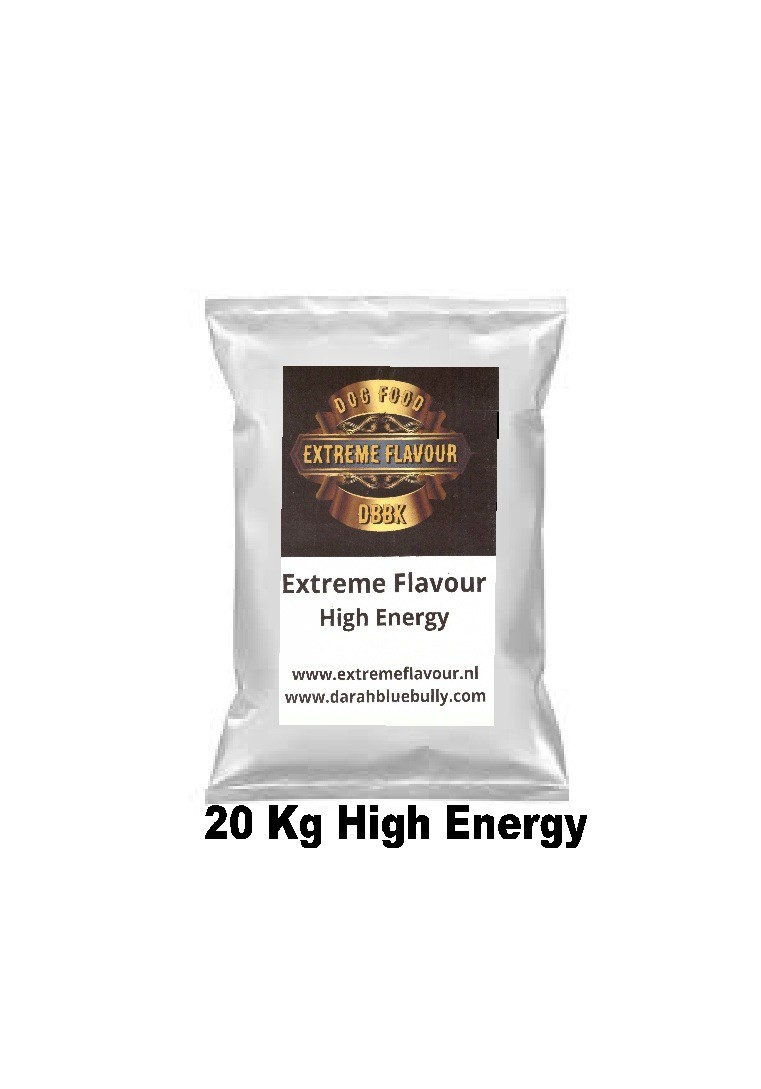Extreme Flavour High Energy 20 Kg