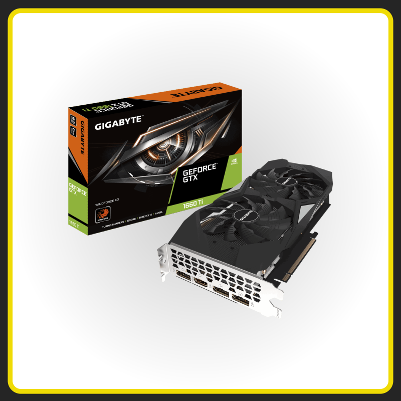 ASUS GeForce RTX1660 Ti Windforce - GPU