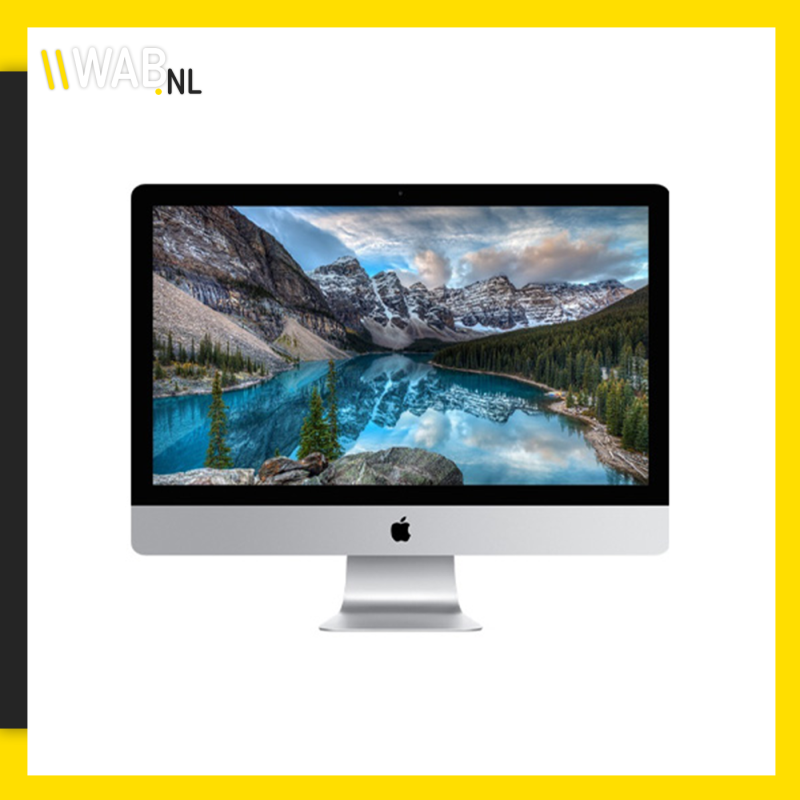 iMac 27 inch 5K (Late 2015) – 8GB RAM – 1TB HDD