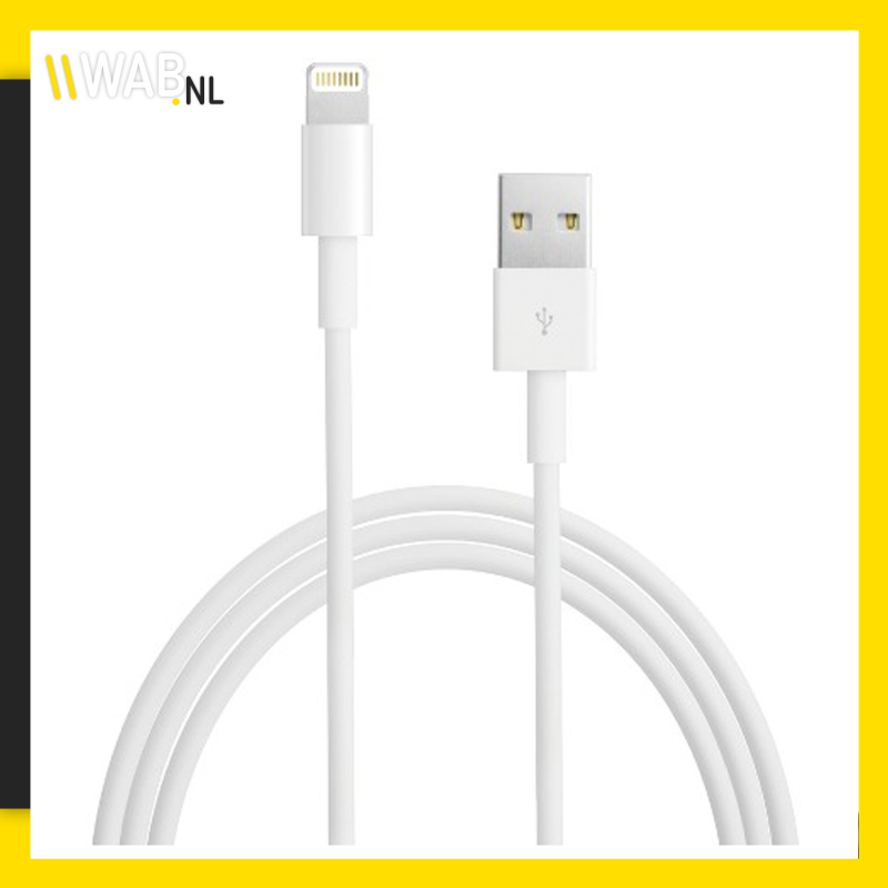 Apple lightning usb kabel 2M