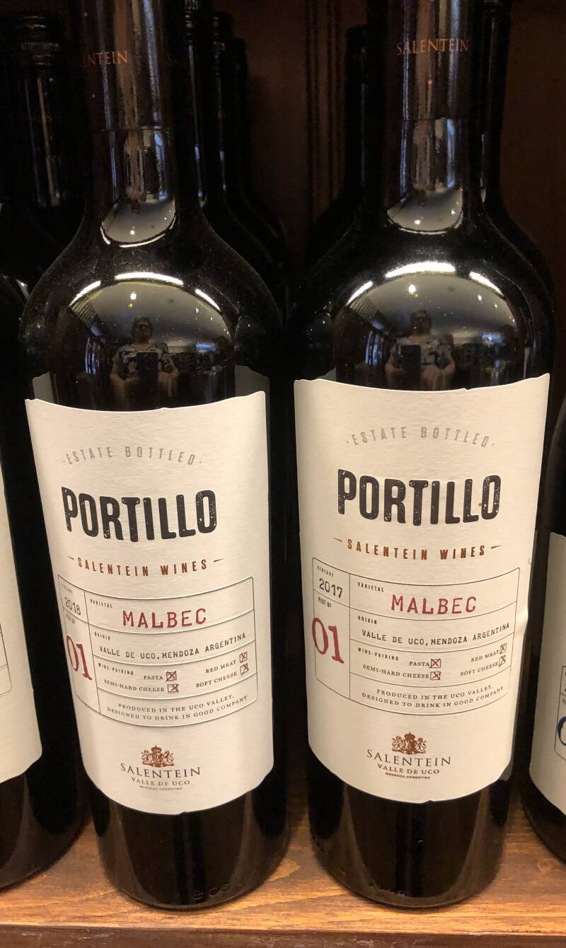 Portillo Malbec by Salentein