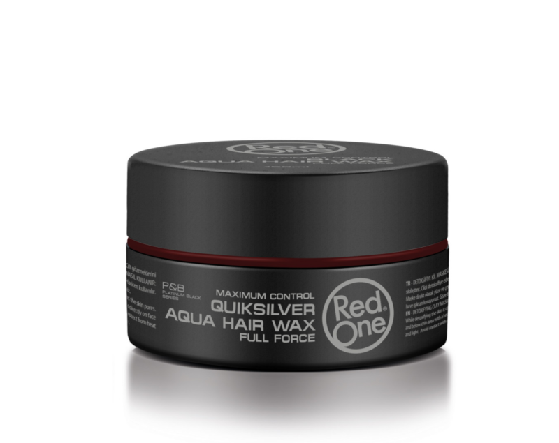 Red One Quicksilver Aqua Hair Wax Proefje