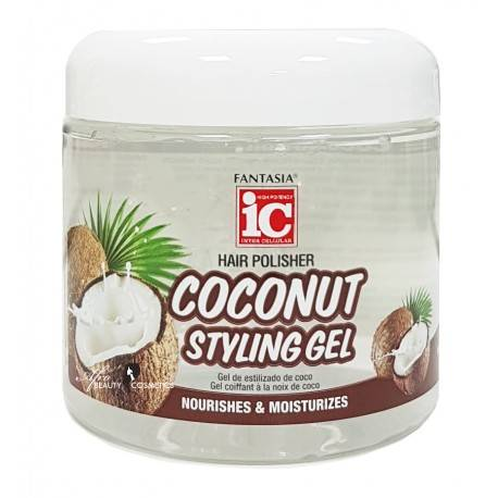 Fantasia IC Hair Polisher Coconut Styling Gel