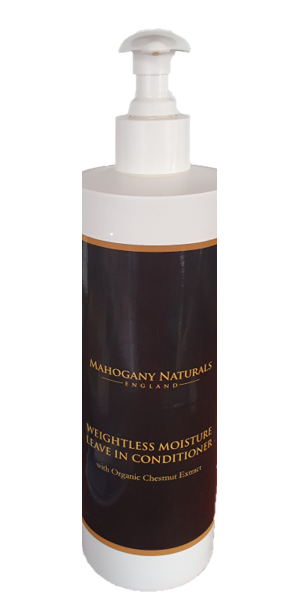 Mahogany Naturals Weightless Moisture Leave-in
