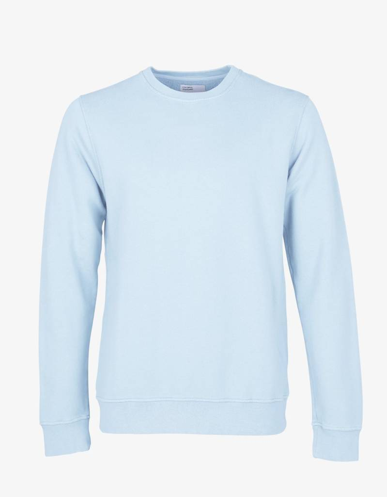 Colorful Standard sweater crew polar blue