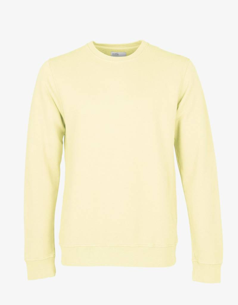 Colorful Standard sweater crew soft yellow unisex