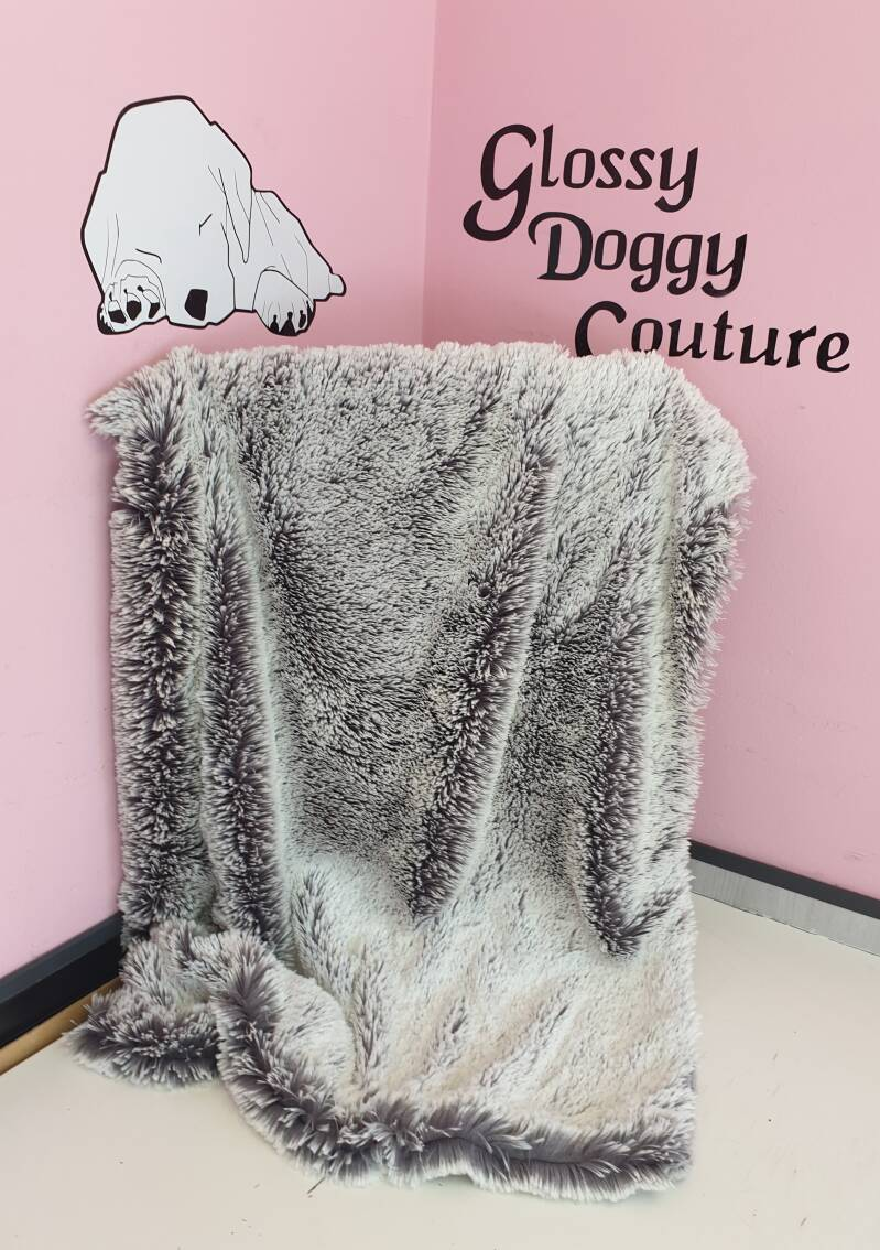 Shaggy Frosted Silver
