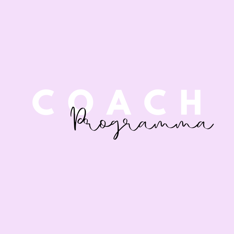 Coachprogramma: CHANGE YOUR LIFESTYLE