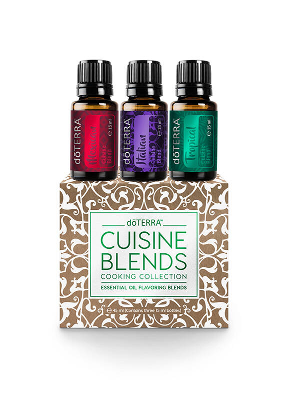 Doterra Cuisine Blends Cooking Collection