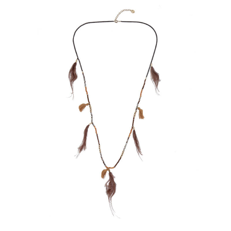 Ketting stylisch feathers