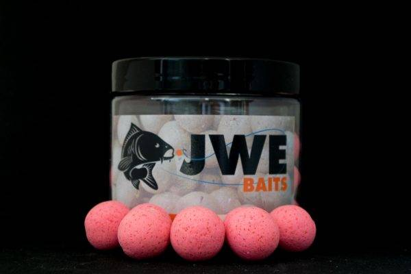 JWE Baits Spicy fish Pop up in 14 mm