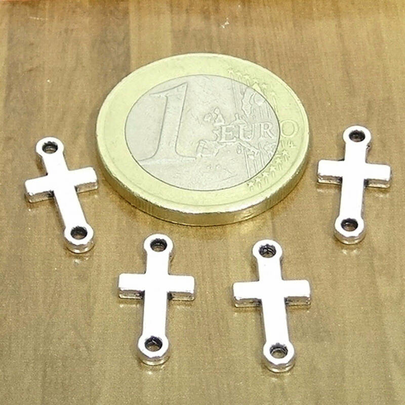 90 Abalorios Cruces 20x8mm T38H