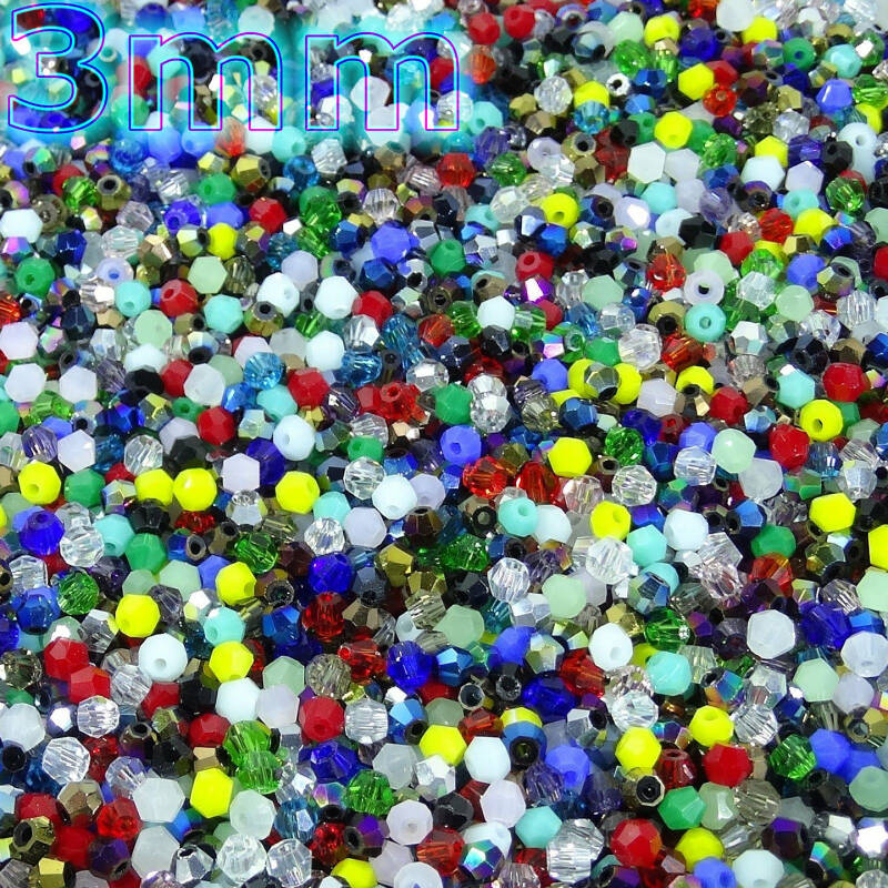 500 Cristales Tupis 3mm T501H
