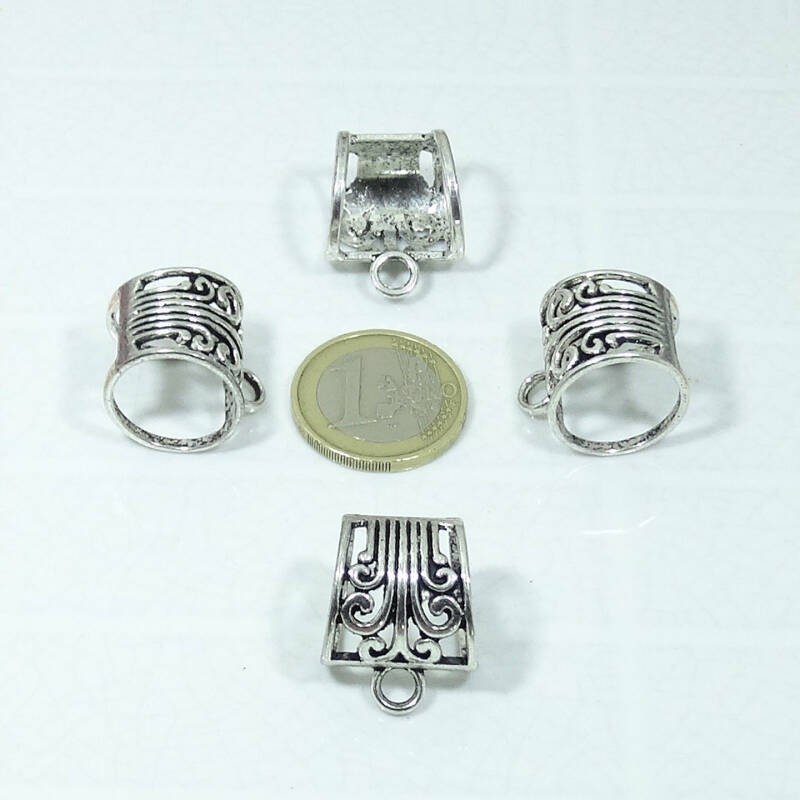 12 Enganches Grandes 24x19mm T29X