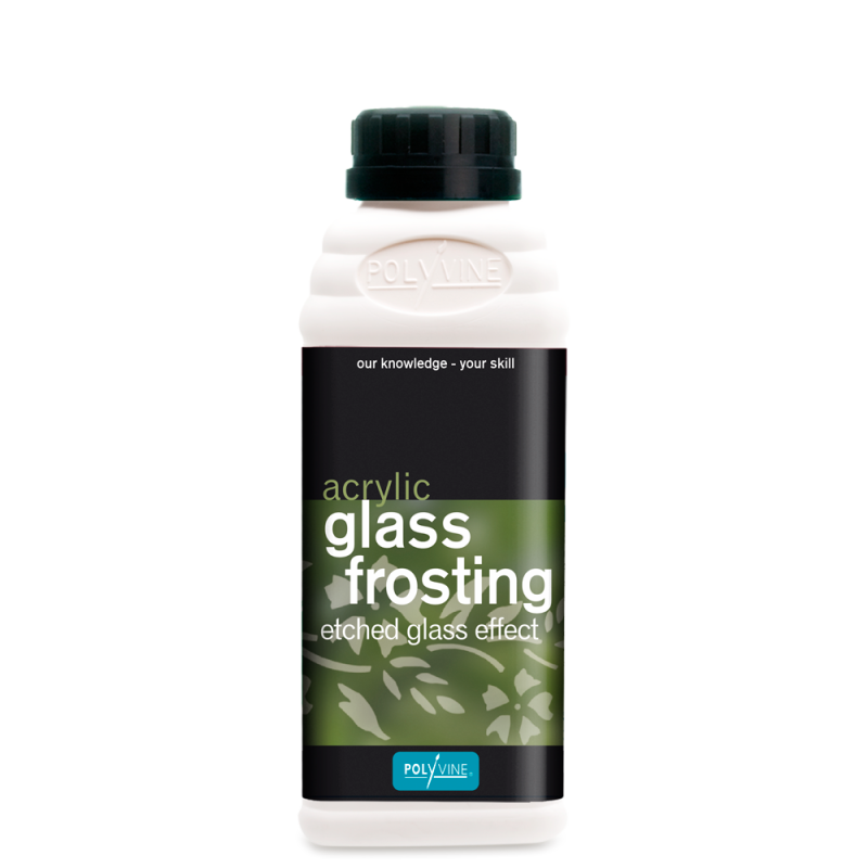 glass frosting - for etched glass effects