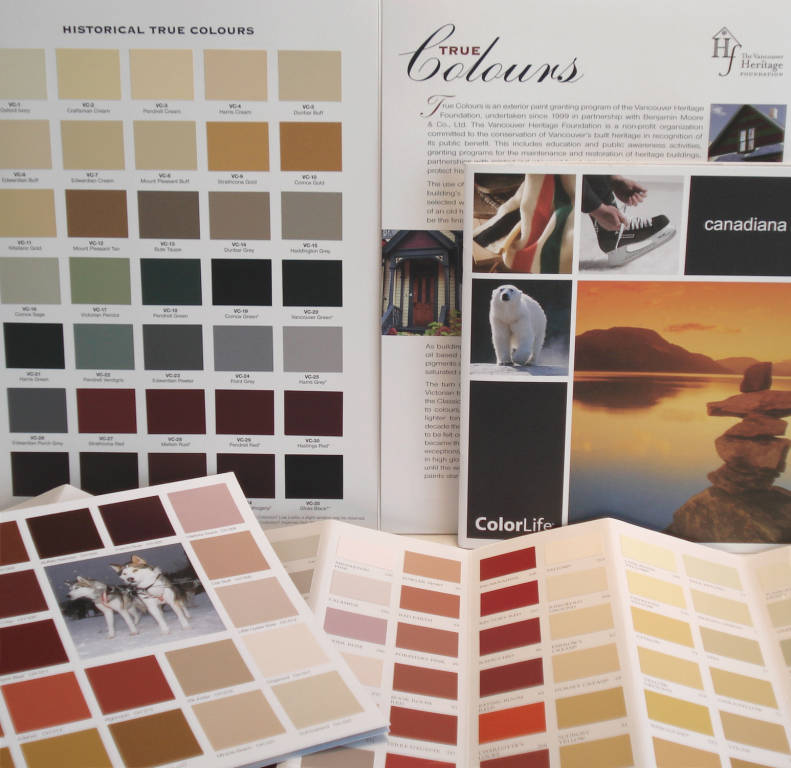 Benjamin Moore Colour Guides