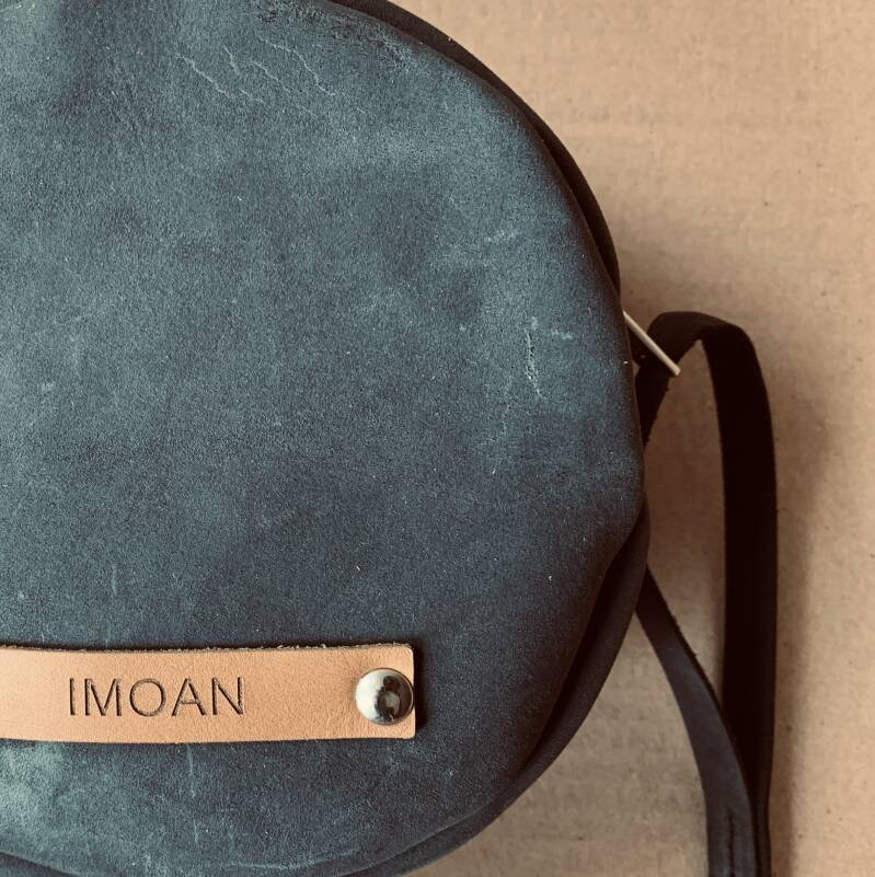 IMOAN clutch | Grey (gold)