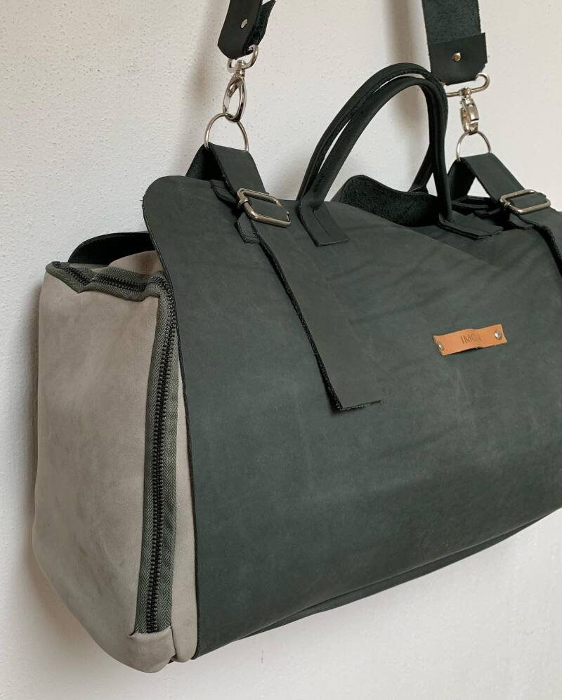 CHI Weekend bag | Grey (silver)