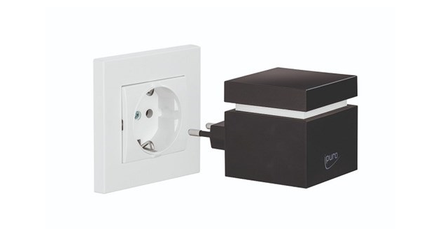 Air pearls electric plug-in cube black