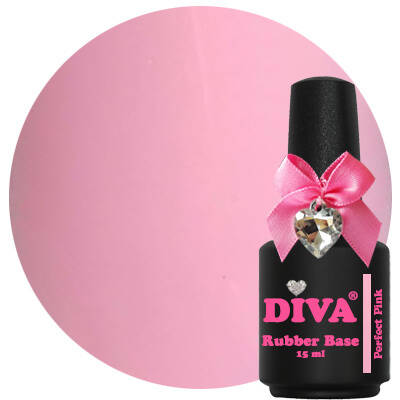 DIVA rubber base coat - perfect pink